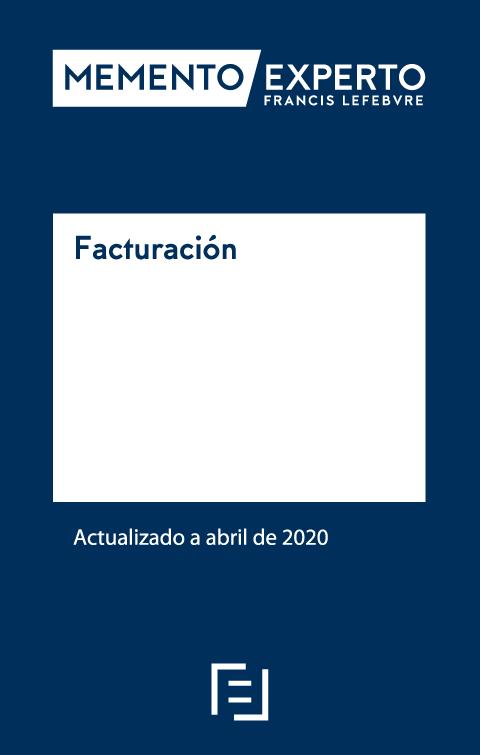 Memento Experto Facturación. Edición Especial Técnicos Tributarios