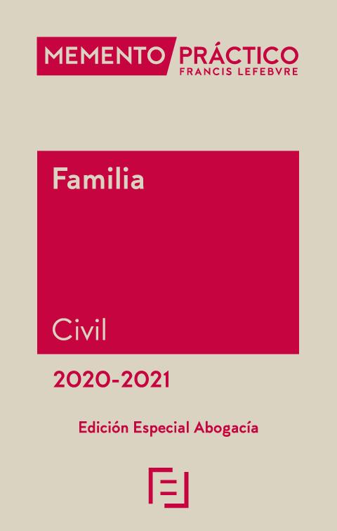Memento Derecho de Familia 2020